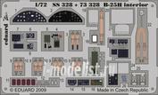 Ss328 Eduard 1/72 Цветное фототравление для B-25H interior S. A.