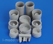 AMG48015 Amigo Models 1/48 МiGG-25ПД Реактивные сопла двигателя Р15Б-300