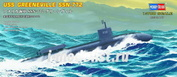 87016 HobbyBoss 1/700 USS Greeneville SSN-772 attack submarine