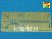 48 A07 Aber 1/48 Фототравление Rear small fuel tanks for T-34/76
