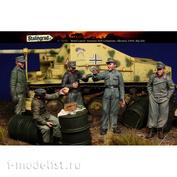 S-3090 Stalingrad 1/35 Экипаж немецкой САУ, 5 фигурок