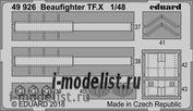49926 Eduard 1/48 Фототравление для Beaufighter TF. X