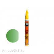 127504 Molotow Marker ONE4ALL 127HS-CO METALLIC #226 Green 1.5 mm