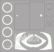 EX238 Eduard 1/48 Маска для YAK-3 Weekend