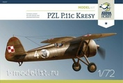 70017 ArmaHobby 1/72 Самолет PZL P.11c Kresy