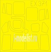 EX371 Eduard 1/48 Маска для Lynx AH7
