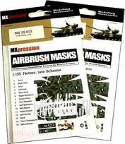 MX35003 MXpression 1/35 Камуфляжная маска Hetzer, late