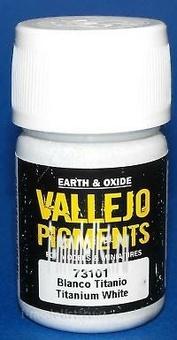 73101 Vallejo Pigment hood. Titanium white/TITANIUM WHITE