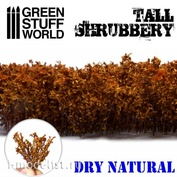 9933 Green Stuff World Высокий кустарник - сухой настоящий / Tall Shrubbery - Dry Natural