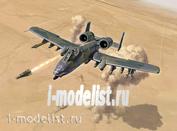 1376 Italeri 1/72 A-10 A/C THUNDERBOLT ll - GULF WAR