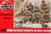 1763 Airfix 1/72 Wwii British Infantry Northern Europe