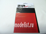 69310 ZIPmaket Лист клена L (182 штуки, 4,5*5,5 мм) КРАСНЫЙ