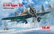 32003 ICM 1/32 I-16 type 29, WWII Soviet Fighter