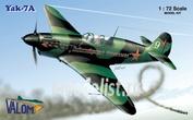 72025 Valom 1/72 Yak-7A