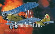 P72011 Kpmodels 1/72 Polikarpov Po-2 with wheels