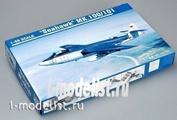 02827 Я-Моделист Клей жидкий плюс подарок Trumpeter 1/48  СамолетHawker Sea Hawk Mk.100 / Mk.101