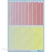 All-001 Begemot Декали - полосы и линии для любых масштабов