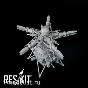 RSU48-0127 RESKIT 1/48 Несущий винт для вертолёта Mu-24 (Звезда)