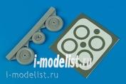 4423 Aires 1/48 Kit of the MiG-15 Fagot wheels & paint masks