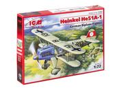72193 ICM 1/72 Хейнкель Не-51 А-1, Германский истребитель-биплан