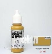 70977 Краска акриловая `Model Color Желтая пустыня/Desert yellow