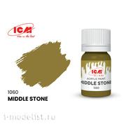 C1060 ICM Краска для творчества, 12 мл, цвет Средний камень (Middle Stone)