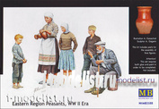 3588 MasterBox 1/35 Villagers, world war II