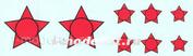 48006 KV Decol 1/48 Российские звезды с окантовкой