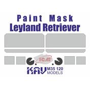 M35 120 KAV Models 1/35 Окрасочная маска для Leyland Retriever (ICM)