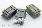 ZA35219 Zebrano 1/35 Ящик для снарядов 30 мм, 3 штуки