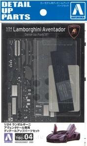 05865 Aoshima 1/24 Detail Lambo Aventador (LP700-4)