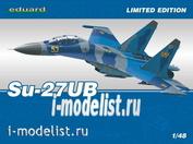 1168 Eduard 1/48 Su-27UB