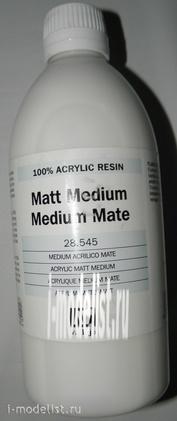 28545 Vallejo acrylic matte Liquid, 500ml.