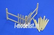 35D04 RB Model 1/35 Wooden palings (corner)