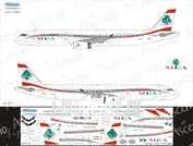 321-012 Ascensio 1/144 Декаль на самолёт Airbu A321 (MEA - Middle East Airlines)