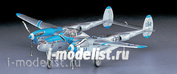 09101 Hasegawa 1/48 Cамолет P-38J Lightning [11436]