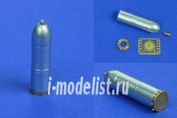 48P32 RB model 1/48 Металлические снаряды The 38cm rocket HE projectile Sturmtiger 3 pcs