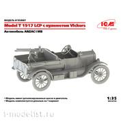 35607 ICM Model Автомобиль T 1917 LCP с пулеметом Vickers