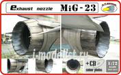 RVD72011 R.V. AIRCRAFT 1/72 Exhaust nozzle - MiG 23