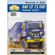 019 Vimos 1/32 DAF CF 75 Daf CF 75 FAV Dakar 2004