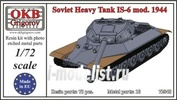 72048 OKB Grigorov 1/72 Soviet Heavy Tank IS-6 mod. 1944