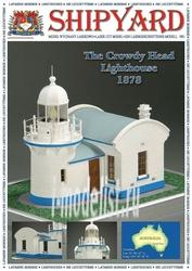 S5 Shipyard 1/96 The Crowdy Head Lighthouse 1878