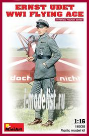 16030 Miniart 1/16 Эрнст Удет. Германский лётчик-ас Первой мировой войны