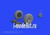 672221 Eduard 1/72 Дополнение к моделям P-47D колёса