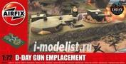 5701 Airfix 1/72 D-Day Gun Emplacement