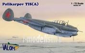 72023 Valom 1/72 Polikarpov Tis (A)