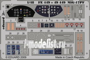 FE449 Edward 1/48 Color photo-etching for MiG-17PF S. A.