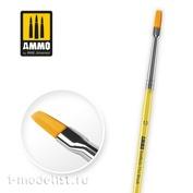 AMIG8622 Ammo Mig Синтетическая плоская кисть 10 / 10 Synthetic Flat Brush