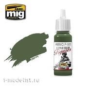 AMMOF503 Ammo Mig Acrylic paint DARK OLIVE GREEN FS-34130