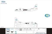 А24-009 Ascensio 1/144 Декаль на самолет Атонов Ан-24РВ (Татарстан)